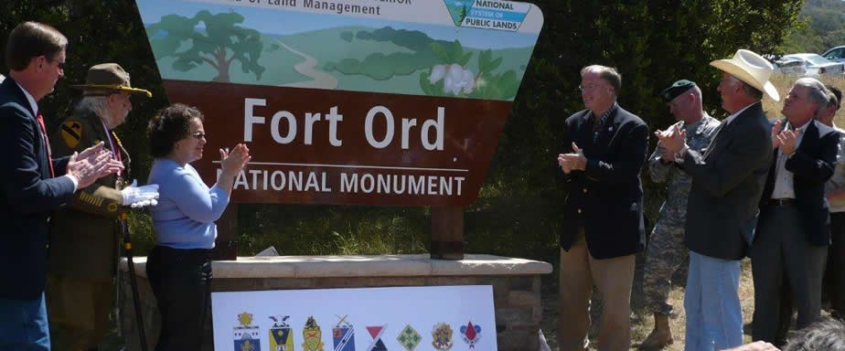 Fort Ord National Monument dedication